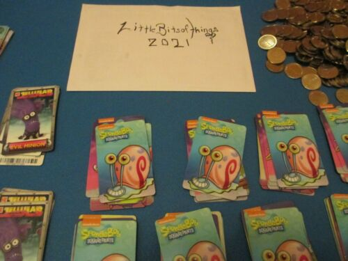 RARE Gary The Snail Card from Dave & Busters SpongeBob Arcade Game