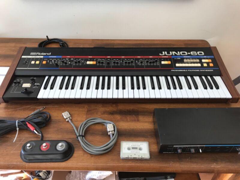 Roland Juno 60 Analog Polyphonic Synthesizer