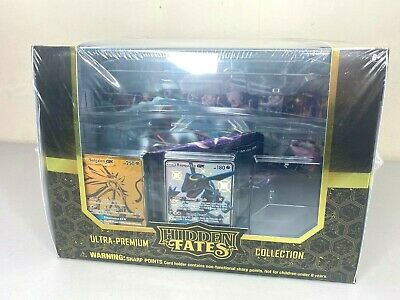 Pokemon Hidden Fates Ultra Premium Collection Box 15 Booster Packs - New