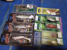Assorted quality fishing lures Torrensville West Torrens Area Preview