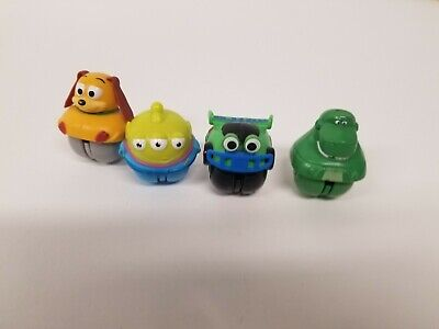Disney Pixar Toy Story Zing 'Ems Rolling Action Figures Toys Lot Of 4