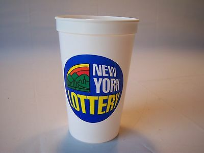 Vintage New York Lottery Quick Pick Lotto Cup