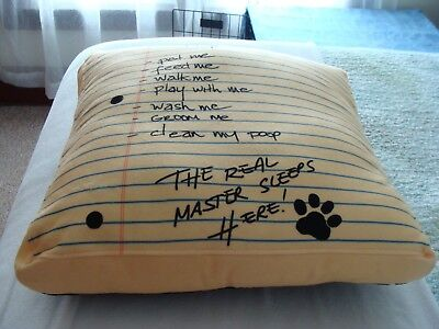 Dog Bed or pillow To do list New