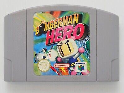 Bomberman Hero for Nintendo 64 **100% ORIGINAL** N64 CART - AUS SELLER