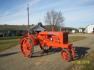 Allis Chalmers WC Antique Tractor NO RESERVE  farmall deere oliver case wd d 45