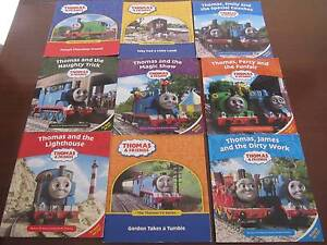 Thomas the Tank engine books (9 books) Cherrybrook Hornsby Area Preview