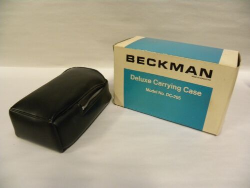NOS Vintage BECKMAN Deluxe Carrying Storage Bag Case Model No. DC-205 (A6)
