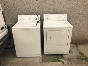Washer and dryer. $350