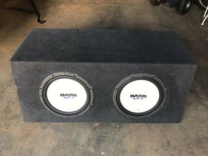 Alpine 12inch subs and custom box Carlisle Victoria Park Area Preview