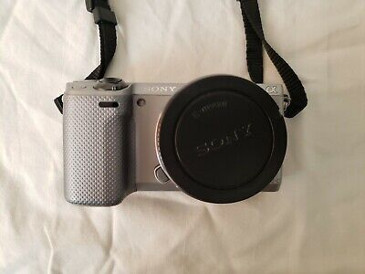 Sony Alpha NEX-5R 16.1MP Digital Camera - Silver (Body Only) Mirrorless