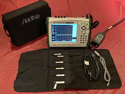 Anritsu Ms2724c 9khz - 20ghz Spectrum Master Analyzer W Opt. 253189