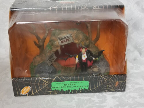 Bat Lair Spooky Town Collection by Lemax Halloween Decoration Dracula Bat Cave