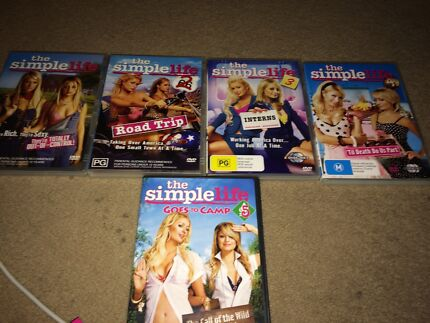 Simple life 5 set DVDs  Bulleen Manningham Area Preview