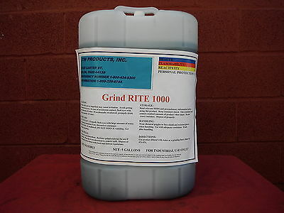 Grind Rite 1000 Synthetic Coolant For Cnc Grinder Surface Grinding Machines