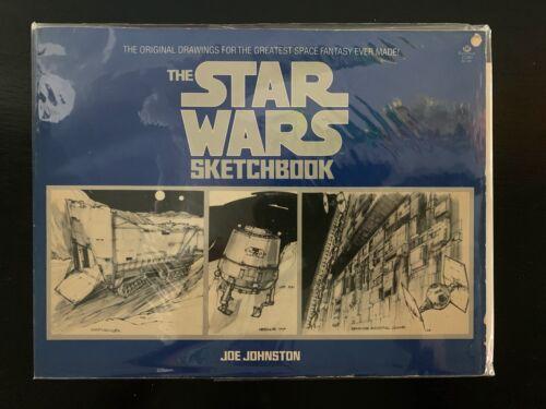 The STAR WARS Movie Sketchbook - 1977 - First Printing + Blueprints!