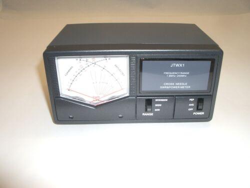 JETSTREAM JTWX1 1.8-160MHz 30/300/3000W HF/VHF CROSS NEEDLE SWR POWER WATT METER