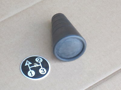 Transmission Shifter Knob W Insert For Ih International Trans 154 Cub Lo-boy