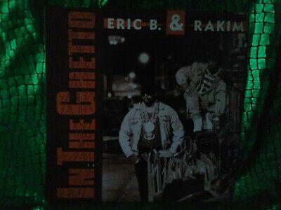 Eric B. & Rakim – In The Ghetto Vinyl single 1990 rap hip hop music