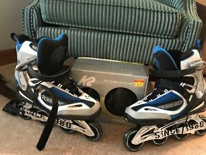Brand new Men's Size 12 Rollerblades & Protective Gear