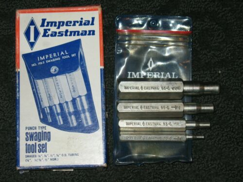 Imperial Eastman Punch Type Swaging Tool Model No. 93-S 5/8