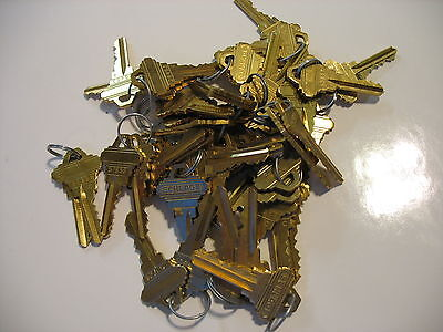 50 Pieces 25 Pair New Schlage Precut Keys Locksmith 25 Sets Of 2 Sc-1 5 Pin