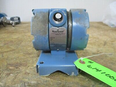 Rosemount Temperature Thermocouple Type Transmitter Sn 176257 614100b Used
