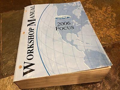 2006 Ford Focus Service Shop Repair Manual