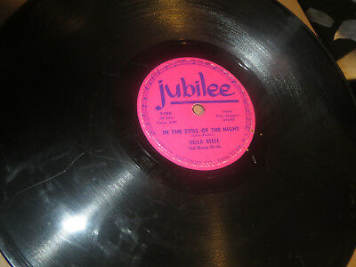 78RPM Jubilee Della Reese, In the Still of Night / Kiss My Love Goodbye clean V