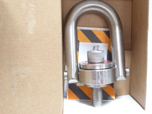 CROSBY SS-125 STAINLESS STEEL SWIVEL HOIST RING 5/8-11 2000 LBS. WLL NIB NOS