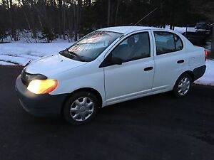 2002 Toyota echo low kms