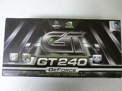 XFX GT240 GeForce 512MB PCI Express 2.0 Graphics Card w/Assassins Creed - NEW comprar usado  Enviando para Brazil