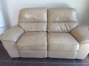 Nick Scali 2 seater leather dual recliners Redland Bay Redland Area Preview