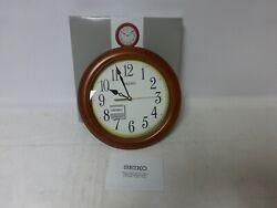 Seiko QXA522BLH - 12 Round Wood Classic Wall Clock
