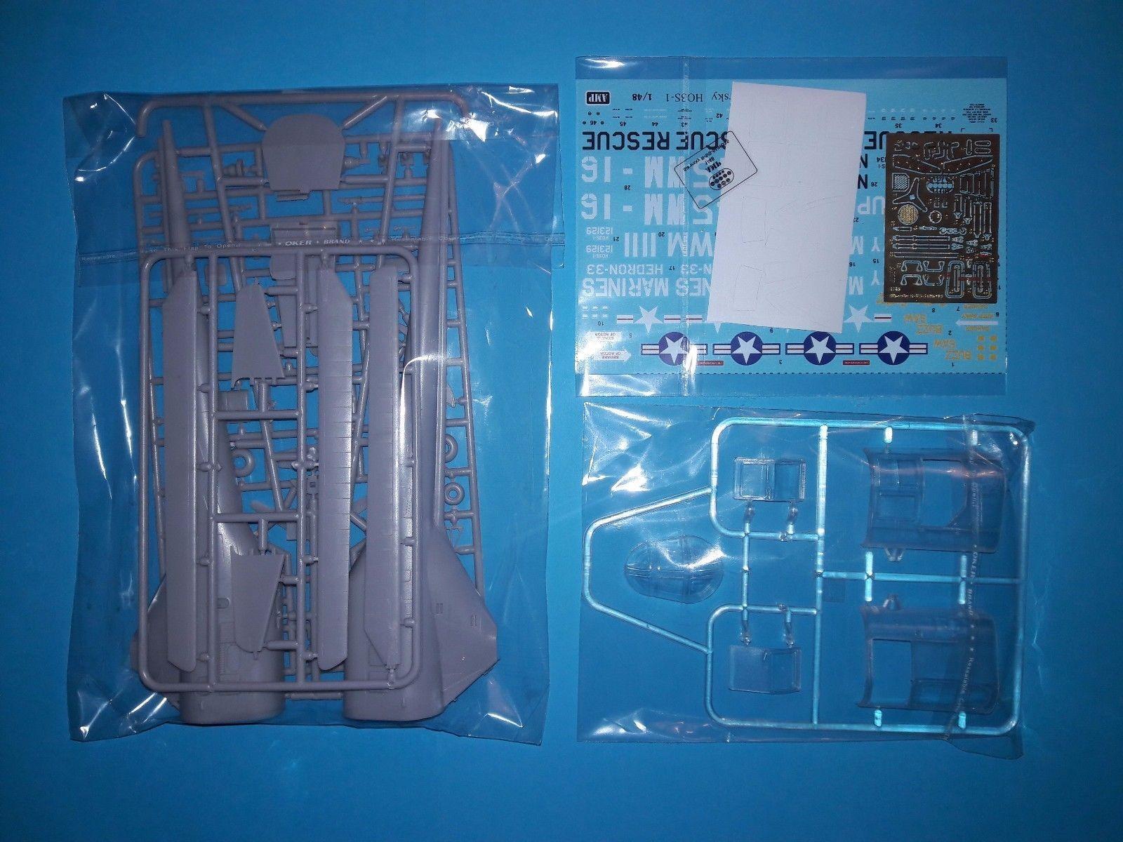 AMP 1//48 SikorskyR-5//S-51 USAF rescue plastic kit
