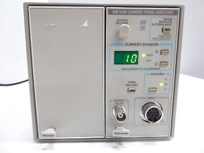 Tektronix Tm502a Tektronix Mainframe W Am 503b Current Probe Amplifier