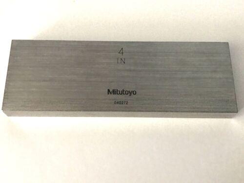 """Grade 0 5.000/"""" Steel Rectangular ASME Gage CMI2500 Gauge Block"""