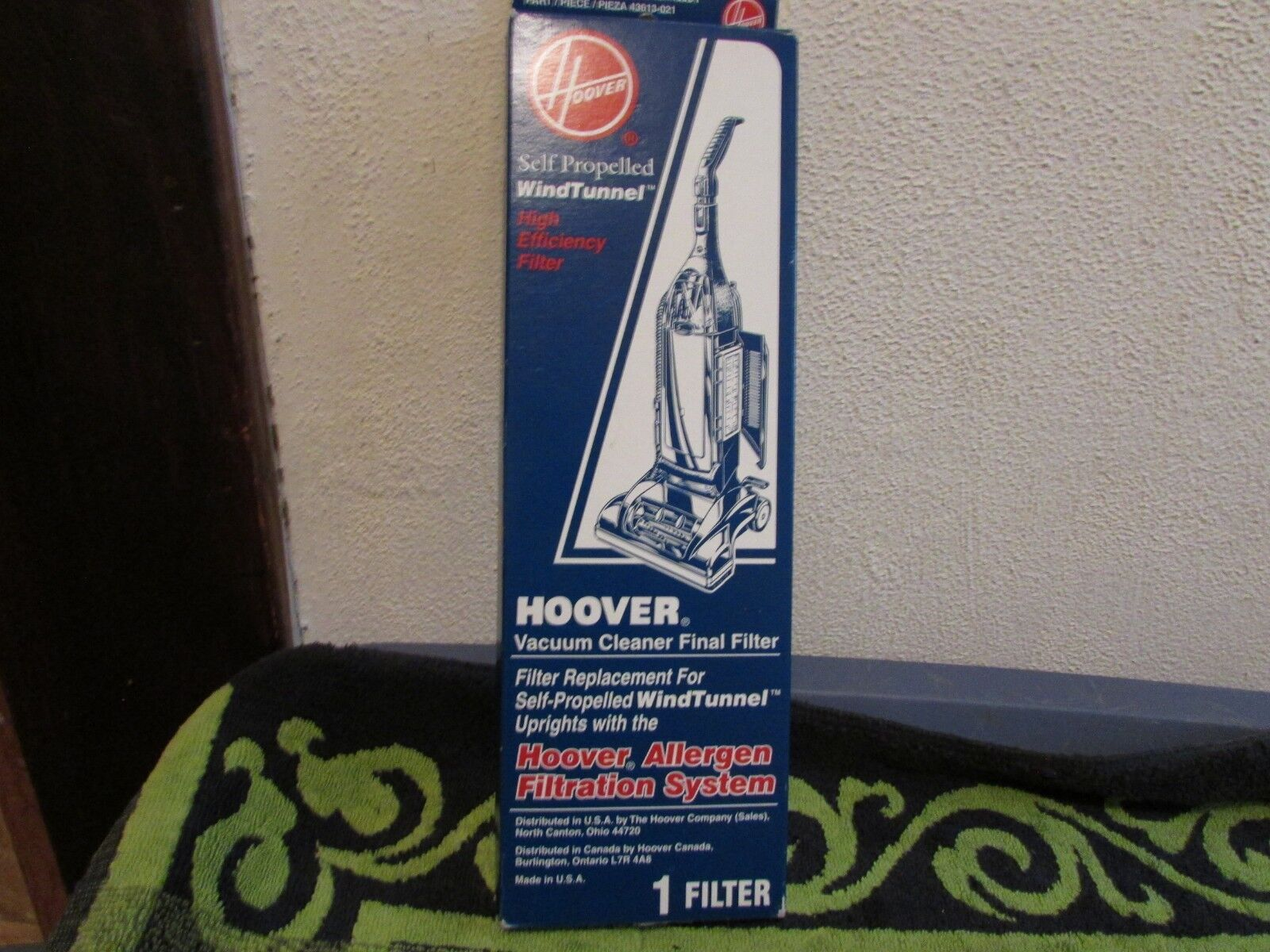 Hoover WindTunnel Filter Self-Propelled non-HEPA Final 1 Pac