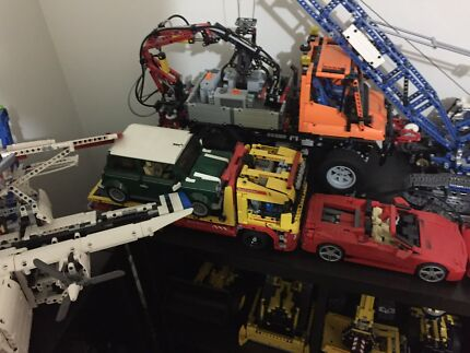 Large LEGO technic collection