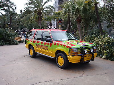 The original Jurassic Park 4WD
