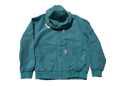(carhartt WORK IN PROGRESS – Active Jacket soft teal rinsed XL)