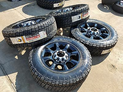 "20"" Ford F-250 F-350 Black OEM rims wheels tires 3844 2016 2017 2018 2019 NEW for sale  Houston"