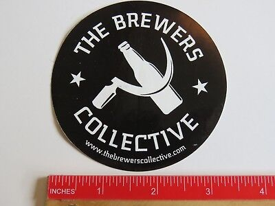 Beer Sticker   The Brewers Collective   Bay Shore  New York   Community Owned