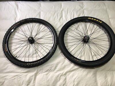 "35031d1a8a0 Chris King ISO disc 100/135mm QR black hubs Mavic XM719 26"" wheels/wheelset  26er"
