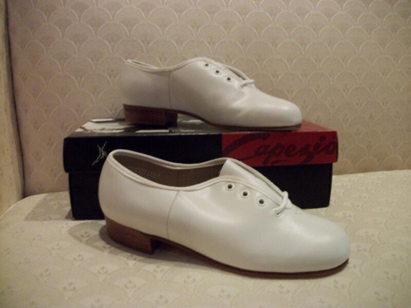 Capezio Premiere Character Shoe White Oxford CG092 NIB