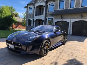 LEASE: Rare 2017 Jaguar F-Type R w/ Ceramic Brakes 550 hp