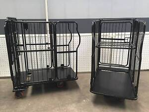 Cage stock trolley - collapsible Ingleburn Campbelltown Area Preview