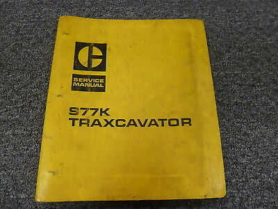 Caterpillar Cat 977k Traxcavator Crawler Loader Shop Service Repair Manual