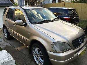 2001 Mercedes-Benz ML Wagon Curl Curl Manly Area Preview