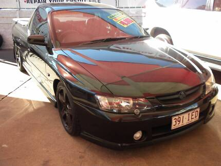 2003 HOLDEN COMMODORE STORM UTILITY MANUAL (IN HOUSE FINANCE) Ipswich Ipswich City Preview