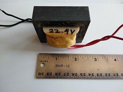 Power Supply Transformer 120 Vac To 22 Vac